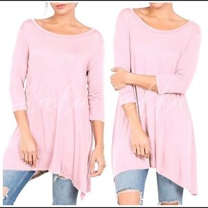 Tops - Pink Tunic
